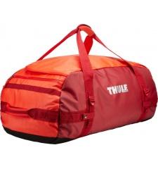 Thule Chasm 130 l cestovní taška oranžová/červená