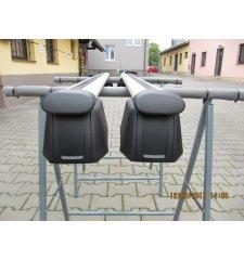 Použitý střešní nosič na int. podélníky alu Originál Audi Q5 2009-