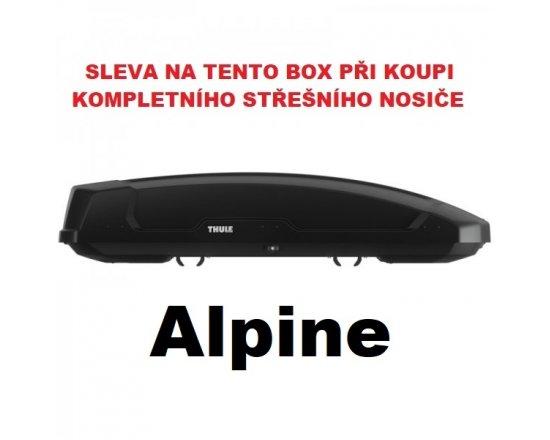 Thule Force XT Alpine černý aeroskin