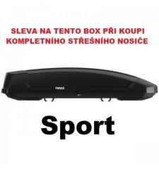 Thule Force XT Sport černý aeroskin