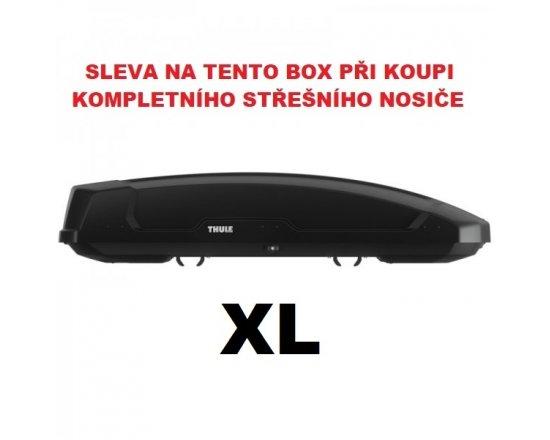 Thule Force XT XL černý aeroskin