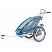 Thule Chariot CX1 Blue + bike set