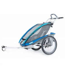 Thule Chariot CX1 Blue + bike set