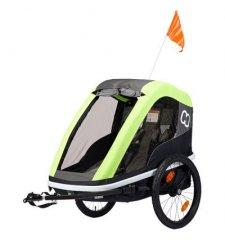 Dětský vozík za kolo Hamax Avenida 2in1 Lime 2019