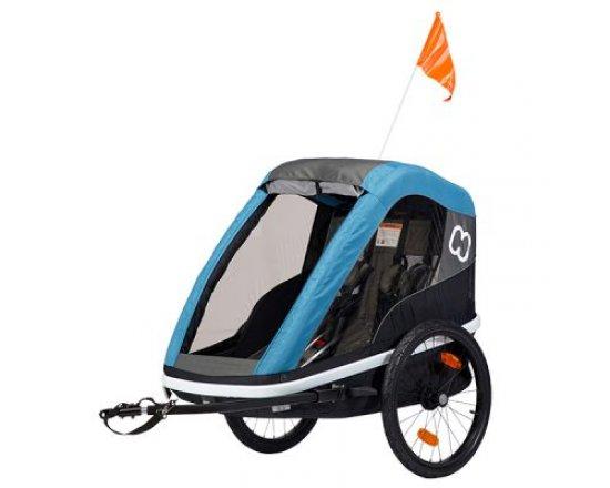 Dětský vozík za kolo Hamax Avenida 2in1 Petrol Blue 2019