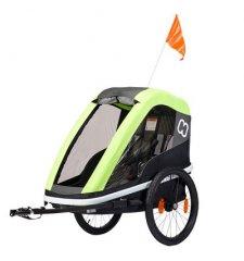 Dětský vozík za kolo Hamax Avenida One Lime 2019 - VYSTAVENÝ KUS NA PRODEJNĚ