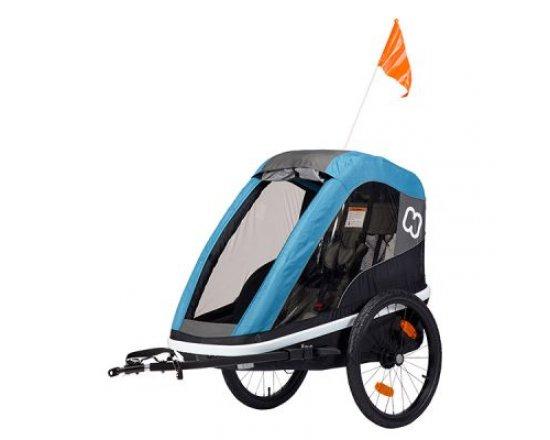 Dětský vozík za kolo Hamax Avenida One Petrol Blue 2019