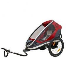 Dětský vozík za kolo Hamax Outback One Red 2019