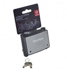 Upínací zámek na cyklosedačku Hamax model 2013-->