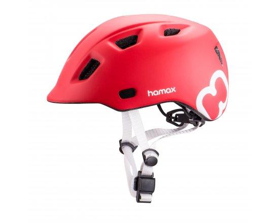 Dětská cyklohelma Hamax Thundercap - Red vel. 47-52