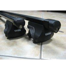 Použitý střešní nosič Thule 755+761 na podéníky PN