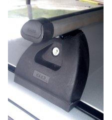 Střešní nosič Hakr na SKODA Fabia, 4-dr Sedan, alu tyč