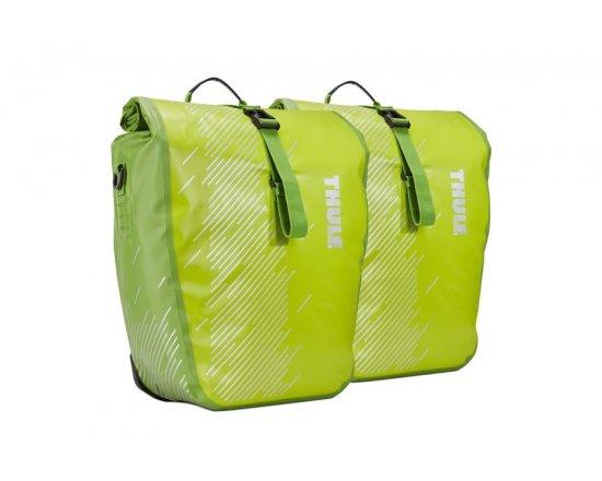 Brašna postranní velká (pár) Thule Pack 'n Pedal Shield 100063 Chartreuse