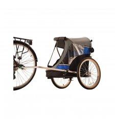 WIKE WAGALONG LARGE BLUE vozík za kolo pro psy