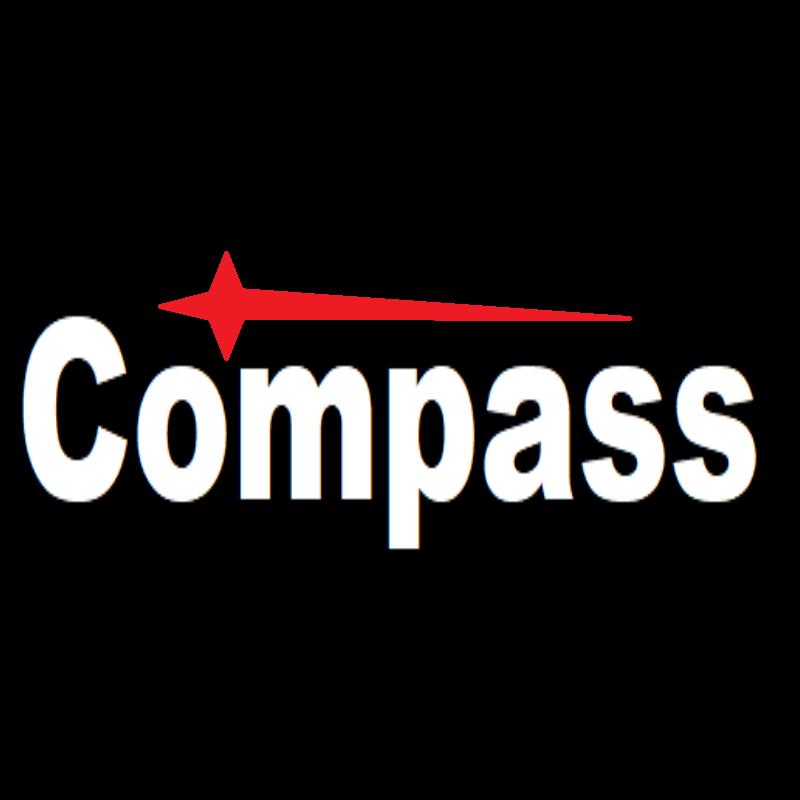 Compass - tabulka rozměrů